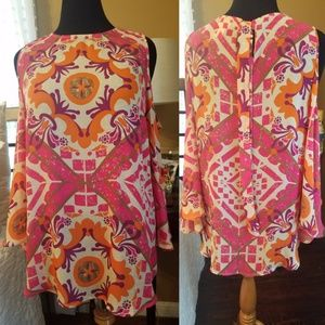 Chicos cold shoulder tunic